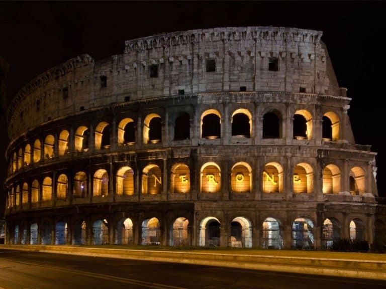 Coliseo y Roma antigua