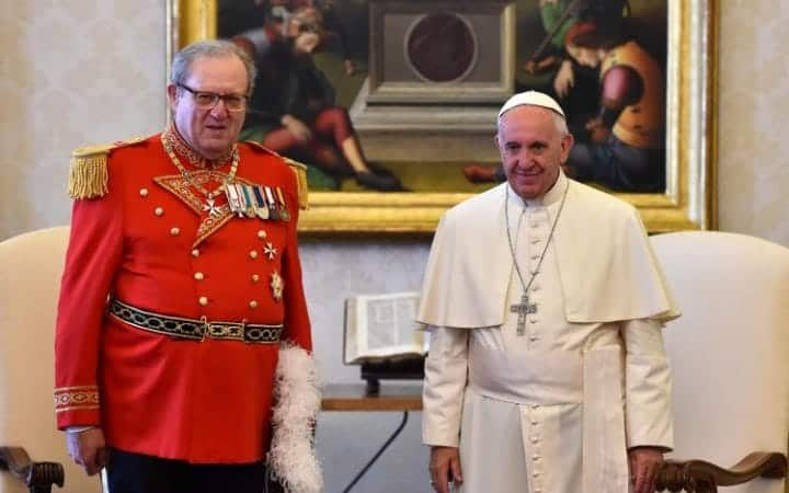 VATICAN CONDOM ROW: POPE PREVAILS AS KNIGHTS OF MALTA CHIEF RESIGNS