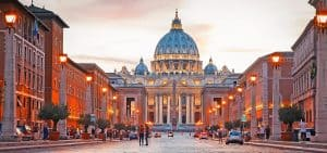 vatican city tour in rome with an architect