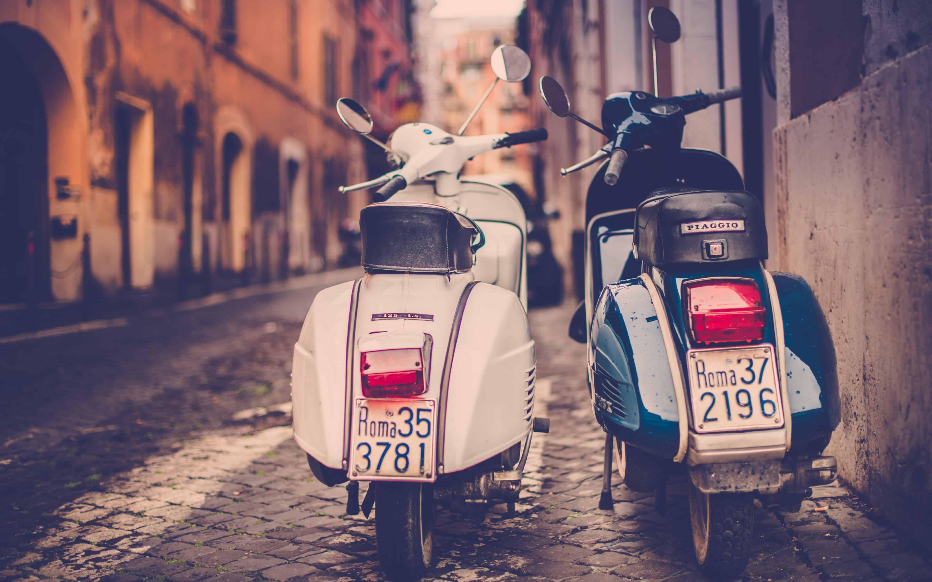 vespa tours in rome