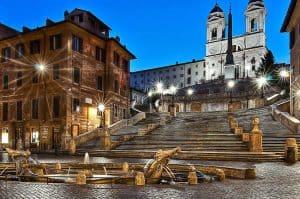 piazza di spagna, square, rome