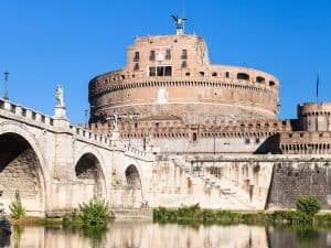 castell saint angelo in rome